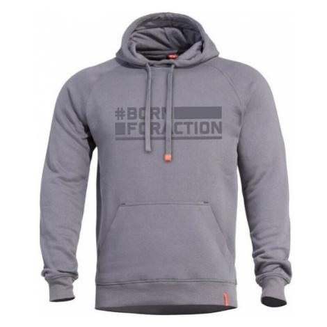 Mikina PENTAGON® Phaeton Born For Action melange grey