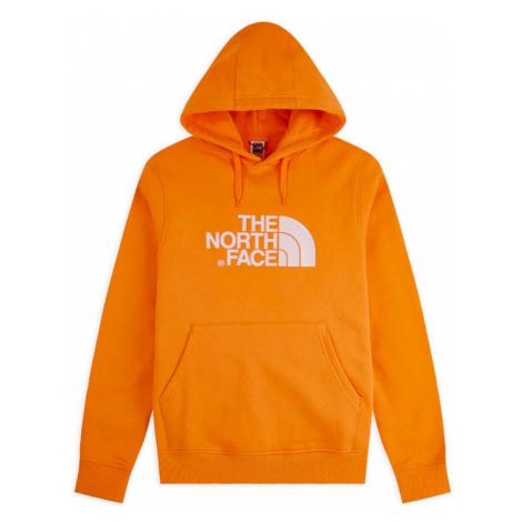 The North Face M Light Drew Peak Pullover Hoodie-Eu Flame Orange-XL oranžové NF00A0TEECL-XL