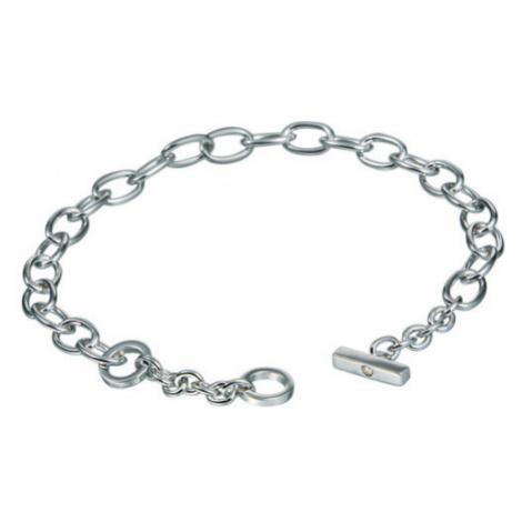 Hot Diamonds Strieborný náramok s diamantom Charm Elegance DL062