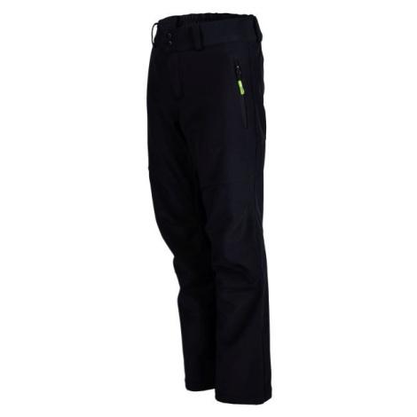 Umbro FIRO čierna - Chlapčenské softshellové nohavice