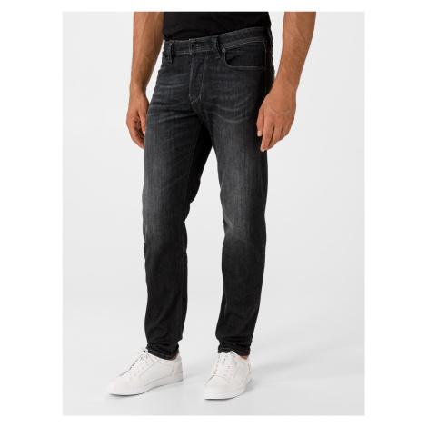 Larkee-Beex Jeans Diesel Čierna