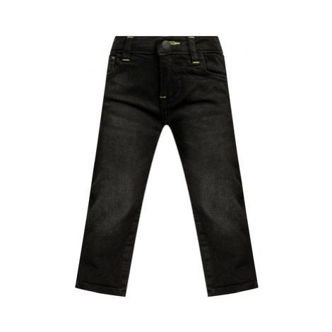 Guess Džínsy N93A13 D3QM0 Čierna Slim Fit