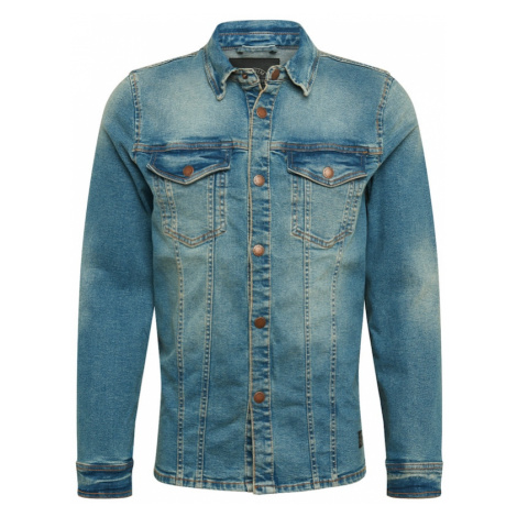 SHINE ORIGINAL Prechodná bunda  modrá denim