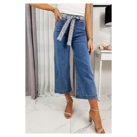 Women's jeans Wide High SELENA blue UY0241 DStreet