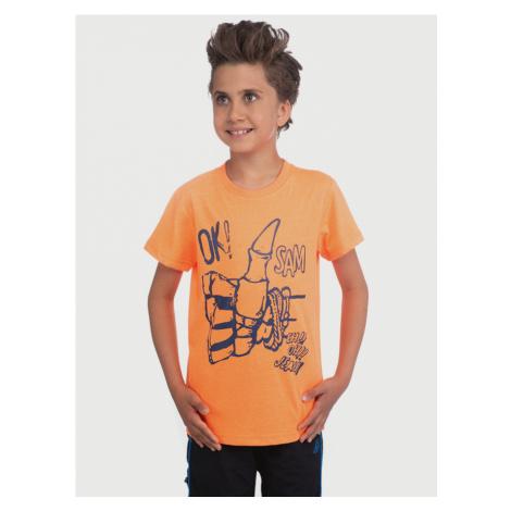 Triko dětské Sam 73 Oranžová