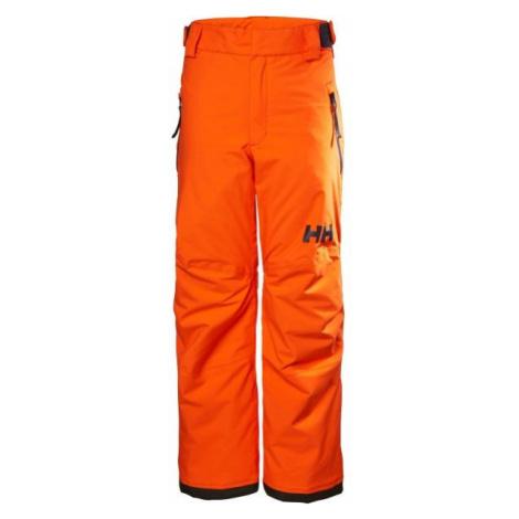 Helly Hansen JR LEGENDARY PANT oranžová - Detské lyžiarske nohavice