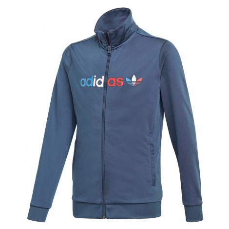 ADIDAS ORIGINALS Prechodná bunda  tmavomodrá / biela / ohnivo červená / kráľovská modrá