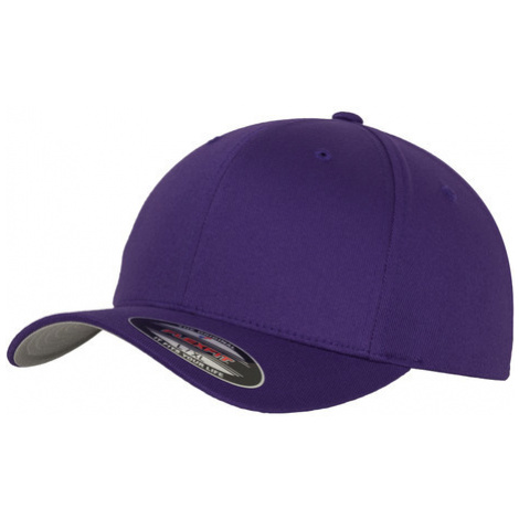 Urban Classics Flexfit Wooly Combed purple - Veľkosť:S/M