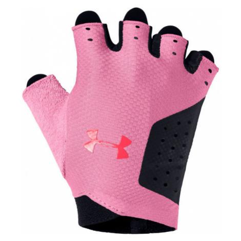 Under Armour WOMEN'S TRAINING GLOVE čierna - Dámske rukavice