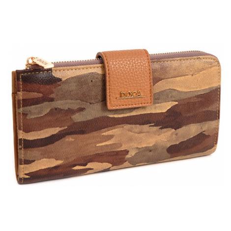 Dámska peňaženka Doca 64954 - svetlo hnedá