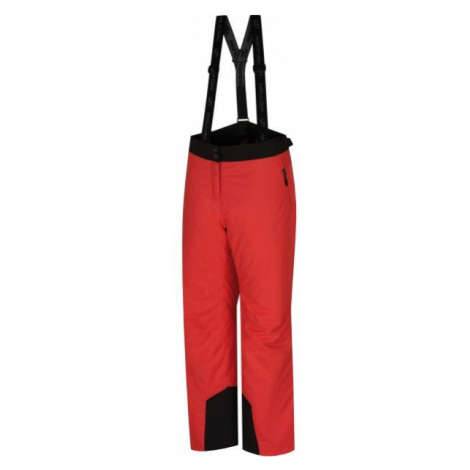 Hannah GABRIL červená - Dámske lyžiarske nohavice