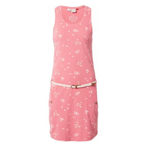 Ragwear Letné šaty 'KESY'  ružová / zmiešané farby