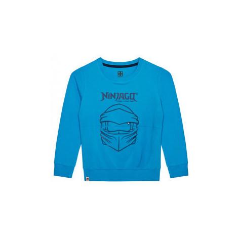 LEGO Wear Mikina 12010054 Modrá Regular Fit