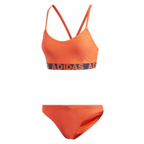 adidas BEACH WOMEN BRANDED BIKINY oranžová - Dámske bikiny