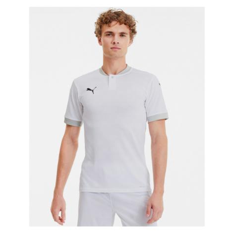 Puma teamFinal 21 Polo tričko Biela