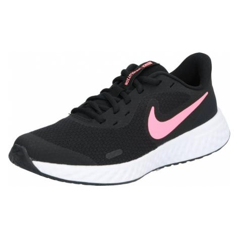 NIKE Športová obuv 'Revolution 5'  ružová / čierna
