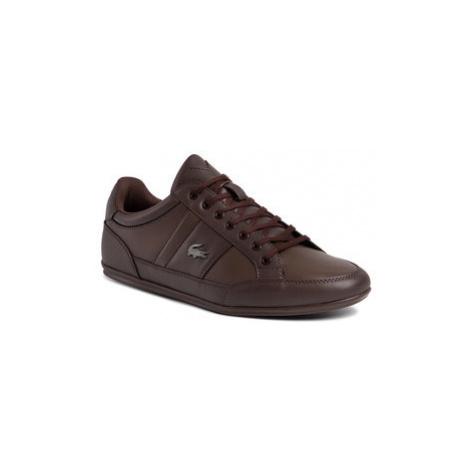 Lacoste Sneakersy Chaymon Bl 1 Cma 7-37CMA0094DB2 Hnedá