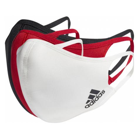 adidas Face Covers M/L 3-pack-One size červené HB7852-One-size
