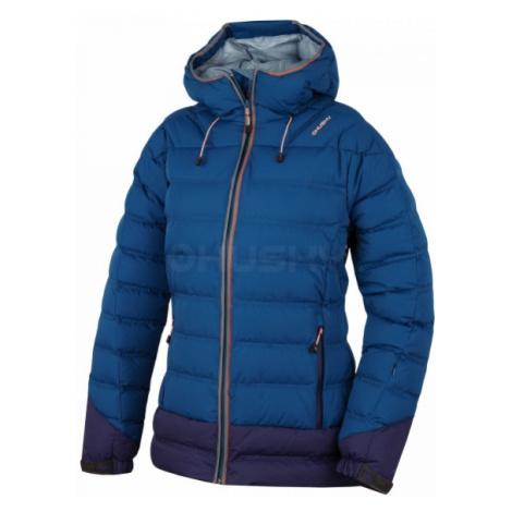Husky FADIN L modrá - Dámska páperová bunda