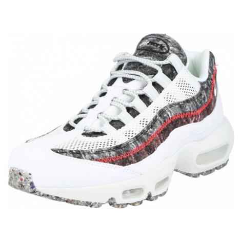 Nike Sportswear Nízke tenisky 'Air Max 95'  biela / sivá / červená