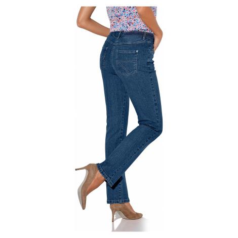 Blancheporte Rovné džínsy, vyššia postava denim