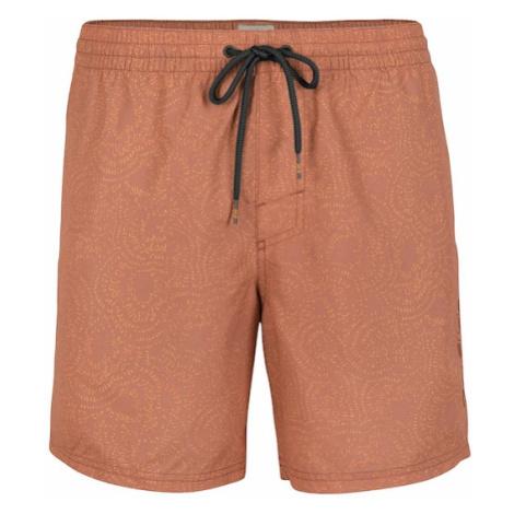 O'NEILL Surferské šortky 'World Tribal'  červená / oranžová