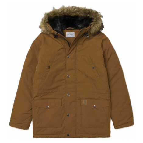 Carhartt WIP OG Trapper Parka Dark Fir Hamilton Brown-XL hnedé I021869_HZ90-XL