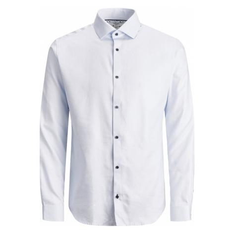 JACK & JONES Biznis košeľa 'BLAVIGGO'  svetlomodrá / biela