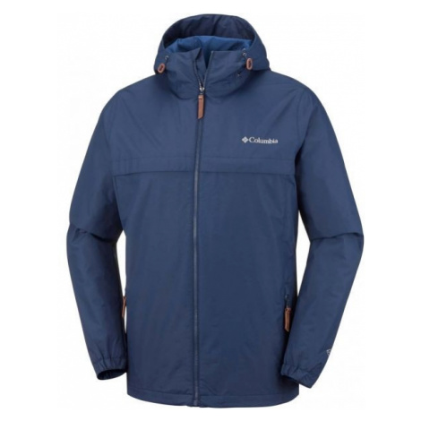 Columbia JONES RIDGE JACKET tmavo modrá - Pánska outdoorová bunda