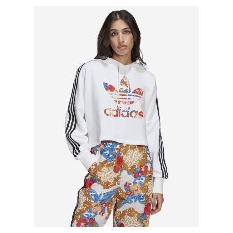 Boxy Mikina adidas Originals Biela