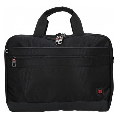 Pánska taška na notebook Enrico Benetti Pentti- čierna