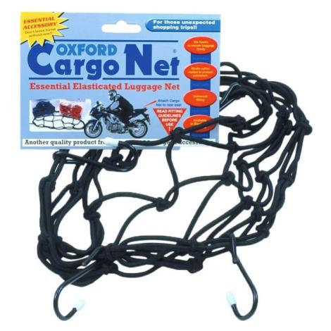 Pružná batožinová sieť pre motocykle Oxford Cargo Net 30x30 cm