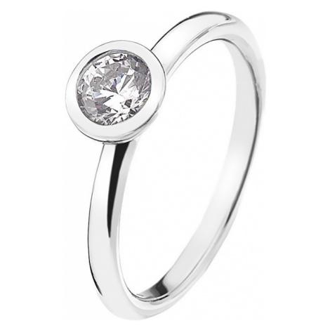Hot Diamonds Strieborný prsteň Emozioni scintilla Clear Innocence ER018 mm