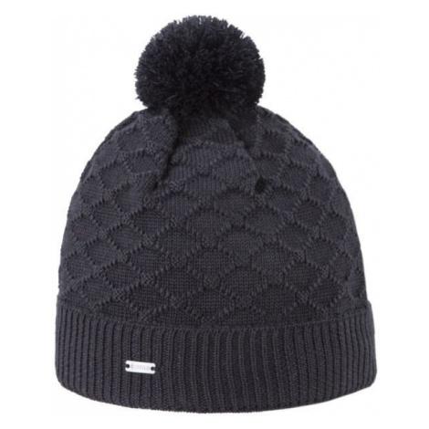 Kama ČIAPKA MERINO BRMBOLEC čierna - Zimná čiapka