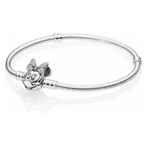 Pandora Strieborný náramok Disney Minnie 597770CZ cm