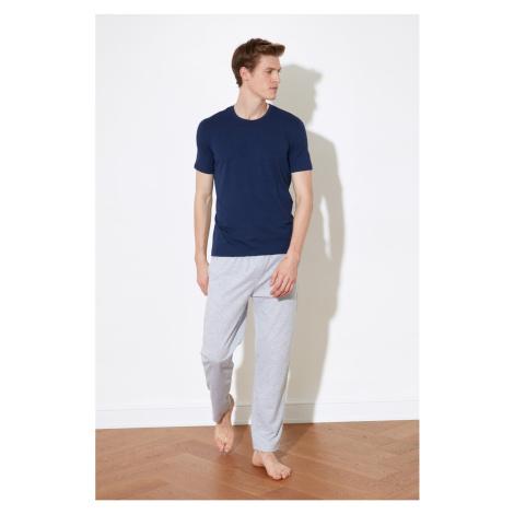 Trendyol Grey Knitted Pyjama Set