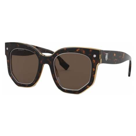 BURBERRY Slnečné okuliare  hnedá