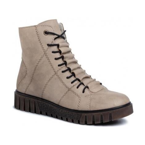 Šnurovacia obuv Rieker Y3420-60 Imitácia kože/-Imitácia kože