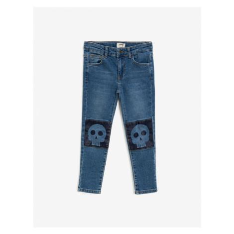 Koton Boys Cotton Normal Waist Printed Jeans
