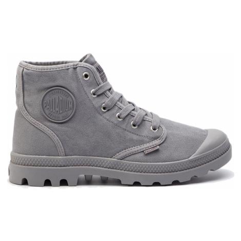 Palladium Boots US Pampa Hi titanium-10 šedé 02352-011-M-10