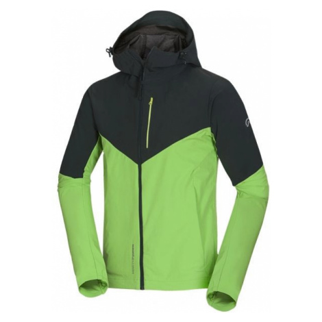 Northfinder IZAYAH čierna - Pánska softshellová bunda