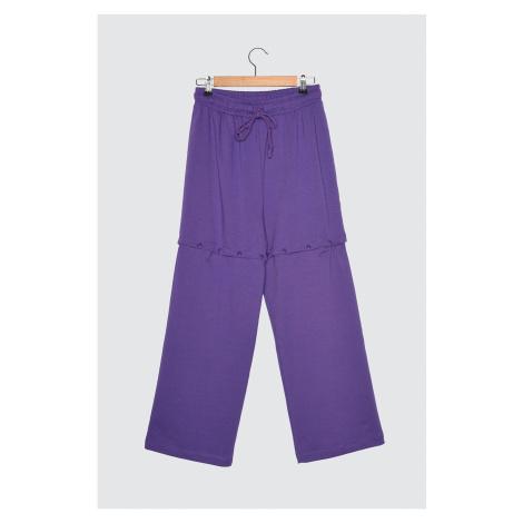 Trendyol Wide Leg Knitted Tracksuit bottom