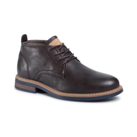 Šnurovacia obuv Lanetti MYL8248-3 Imitácia kože/-Imitácia kože