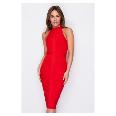 Červené šaty Tamara