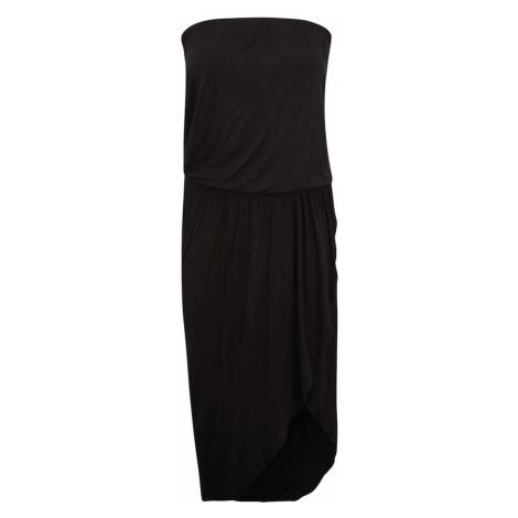 Urban Classics Curvy Šaty  čierna