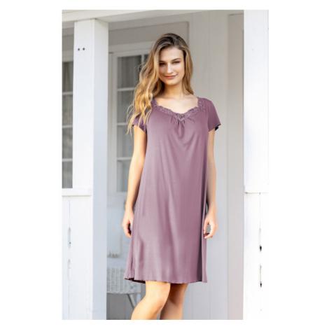 Nočná košeľa f61008 - barva:XBV09/šedá Triola