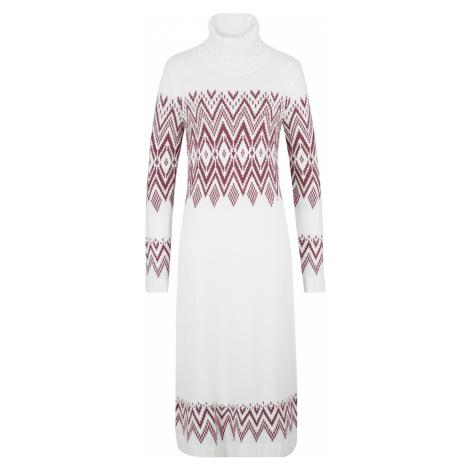 Maxi šaty s nórskym vzorom bonprix