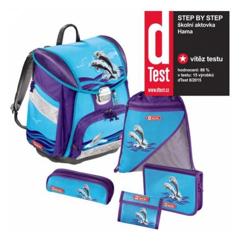 Step by Step – 5dielna súprava s certifikátem AGR Delfíni
