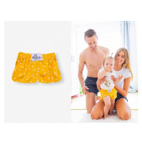 Detské trenírky - Žlté baby trojuholníčky