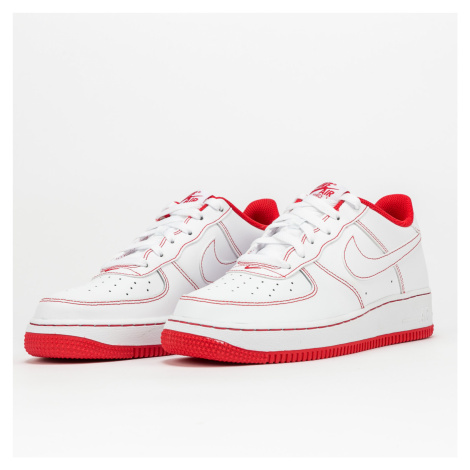Nike Air Force 1 (GS) white / white - university red